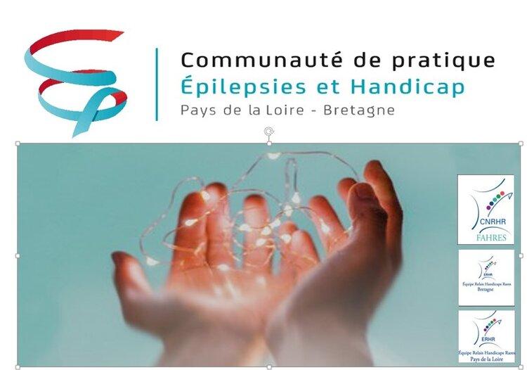 logo de la communauté de pratiques epilepsies et handicaps