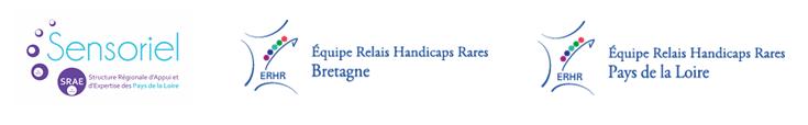 Logos du SRAE et des Equipes Relais Bretagne et Pays de la Loire